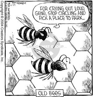 Comic Strip Dave Coverly  Speed Bump 2004-04-24 gene