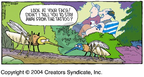 Comic Strip Dave Coverly  Speed Bump 2004-05-16 bug bite