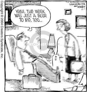 Comic Strip Dave Coverly  Speed Bump 2004-06-11 overworked