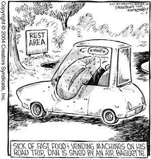 Comic Strip Dave Coverly  Speed Bump 2004-07-03 air travel