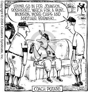 Comic Strip Dave Coverly  Speed Bump 2004-07-05 baseball