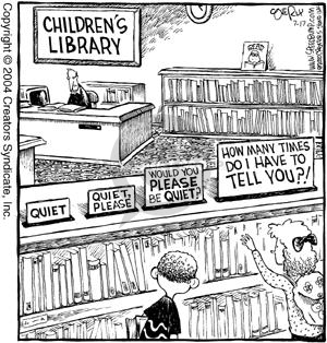 Cartoonist Dave Coverly  Speed Bump 2004-07-17 library