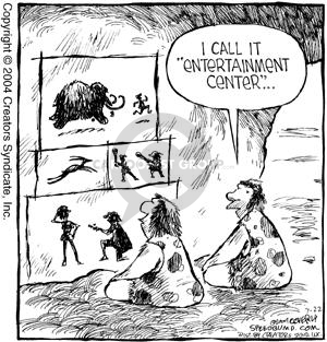 Comic Strip Dave Coverly  Speed Bump 2004-07-22 cave