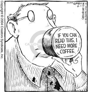 Comic Strip Dave Coverly  Speed Bump 2004-08-07 coffee mug