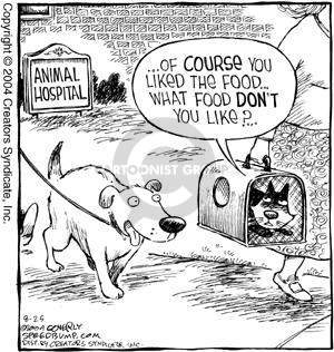 Comic Strip Dave Coverly  Speed Bump 2004-08-25 veterinarian