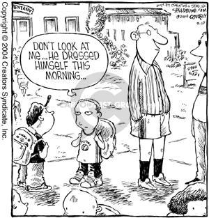 Cartoonist Dave Coverly  Speed Bump 2004-09-10 sock
