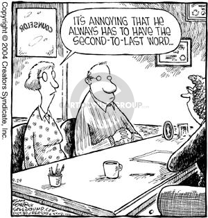 Comic Strip Dave Coverly  Speed Bump 2004-09-29 counselor's office