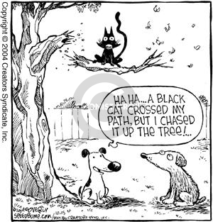 Comic Strip Dave Coverly  Speed Bump 2004-10-15 superstition