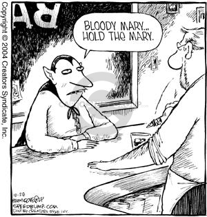 Comic Strip Dave Coverly  Speed Bump 2004-10-28 bloody