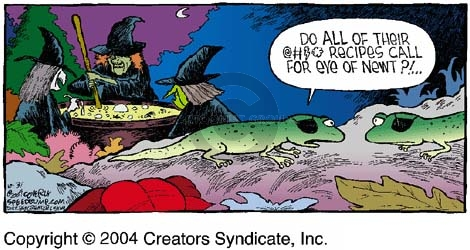 Comic Strip Dave Coverly  Speed Bump 2004-10-31 food ingredient