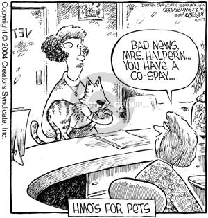Comic Strip Dave Coverly  Speed Bump 2004-11-17 veterinarian