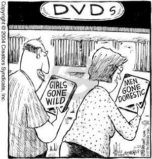 Comic Strip Dave Coverly  Speed Bump 2004-11-22 home video