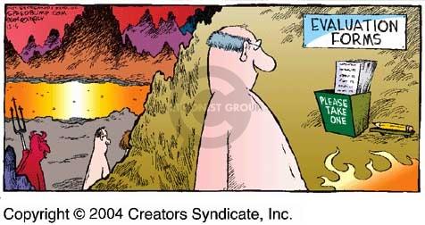 Comic Strip Dave Coverly  Speed Bump 2004-12-05 criticism