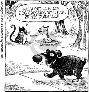 Comic Strip Dave Coverly  Speed Bump 2004-12-14 lucky