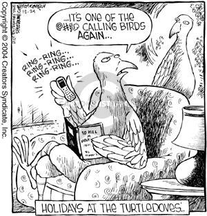 Comic Strip Dave Coverly  Speed Bump 2007-12-24 bird