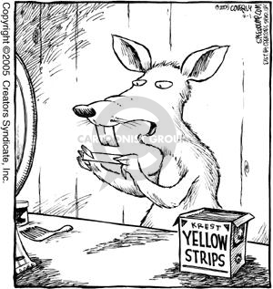 Comic Strip Dave Coverly  Speed Bump 2005-02-01 cleanliness