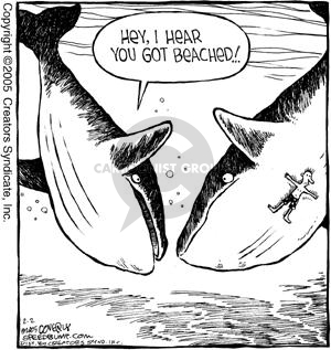 Comic Strip Dave Coverly  Speed Bump 2005-02-02 ocean water