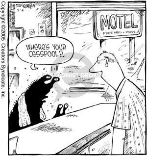 Comic Strip Dave Coverly  Speed Bump 2005-03-04 pool