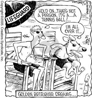 Comic Strip Dave Coverly  Speed Bump 2005-03-30 tennis ball
