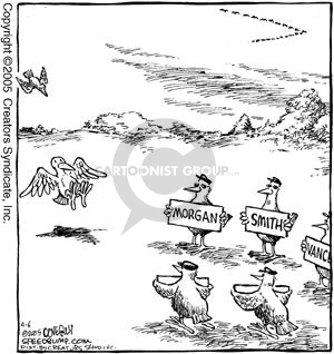 Comic Strip Dave Coverly  Speed Bump 2005-04-06 tourist