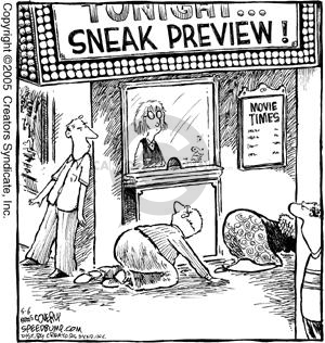 Comic Strip Dave Coverly  Speed Bump 2005-05-06 conceal