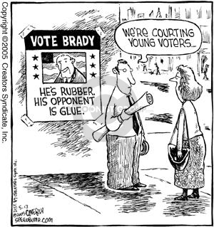 Comic Strip Dave Coverly  Speed Bump 2005-05-13 election