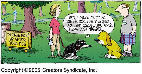 Comic Strip Dave Coverly  Speed Bump 2005-05-15 dog park