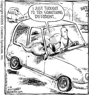 Comic Strip Dave Coverly  Speed Bump 2005-05-28 butt