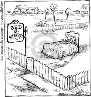 Comic Strip Dave Coverly  Speed Bump 2005-06-03 bed and breakfast
