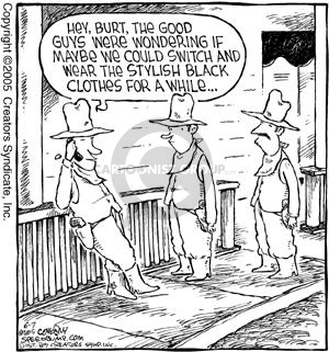 Comic Strip Dave Coverly  Speed Bump 2005-06-07 negotiate