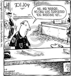 Cartoonist Dave Coverly  Speed Bump 2005-06-08 law