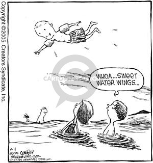Comic Strip Dave Coverly  Speed Bump 2005-06-11 ocean water