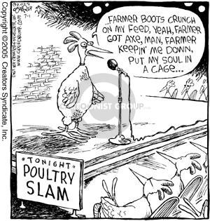 Comic Strip Dave Coverly  Speed Bump 2005-07-01 recite