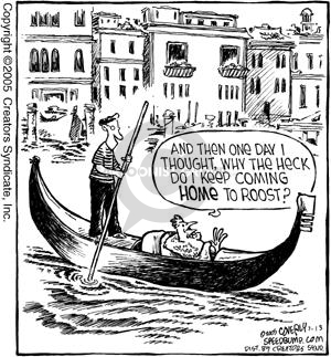 Comic Strip Dave Coverly  Speed Bump 2005-07-13 Venice