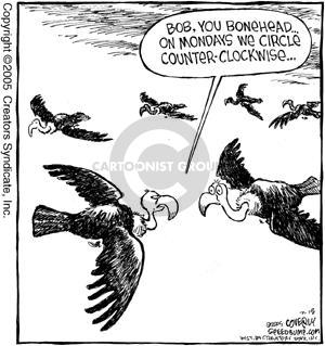Comic Strip Dave Coverly  Speed Bump 2005-07-18 vulture