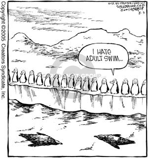 Comic Strip Dave Coverly  Speed Bump 2005-08-03 shark