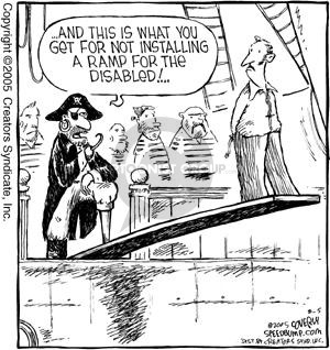 Comic Strip Dave Coverly  Speed Bump 2005-08-05 revenge