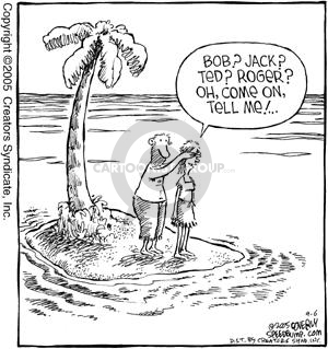 Comic Strip Dave Coverly  Speed Bump 2005-09-06 conceal