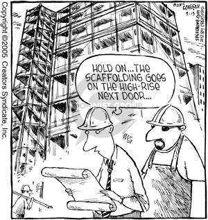 Comic Strip Dave Coverly  Speed Bump 2005-09-13 architect