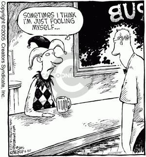 Comic Strip Dave Coverly  Speed Bump 2005-09-20 sense