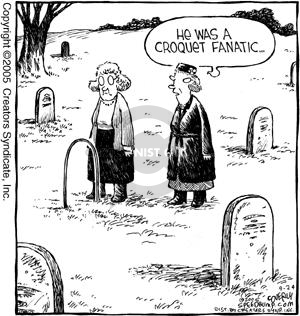 Comic Strip Dave Coverly  Speed Bump 2005-09-24 tombstone