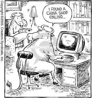 Comic Strip Dave Coverly  Speed Bump 2005-10-08 online shop