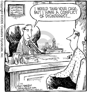 Cartoonist Dave Coverly  Speed Bump 2005-10-25 law