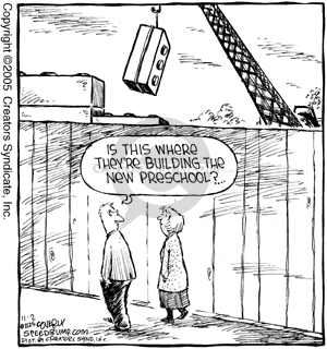Comic Strip Dave Coverly  Speed Bump 2005-11-02 architecture