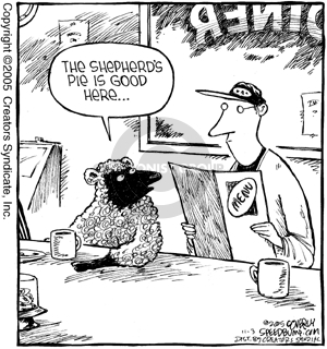 Comic Strip Dave Coverly  Speed Bump 2005-11-03 food review