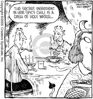 Comic Strip Dave Coverly  Speed Bump 2005-11-15 food ingredient