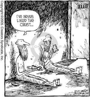 Cartoonist Dave Coverly  Speed Bump 2005-11-17 prisoner