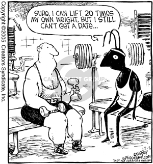 Comic Strip Dave Coverly  Speed Bump 2005-12-03 strength