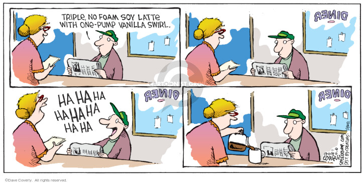 Comic Strip Dave Coverly  Speed Bump 2006-01-08 coffee mug