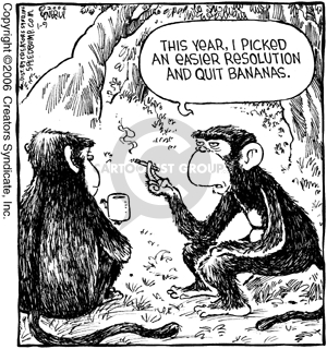 Comic Strip Dave Coverly  Speed Bump 2006-01-09 quit